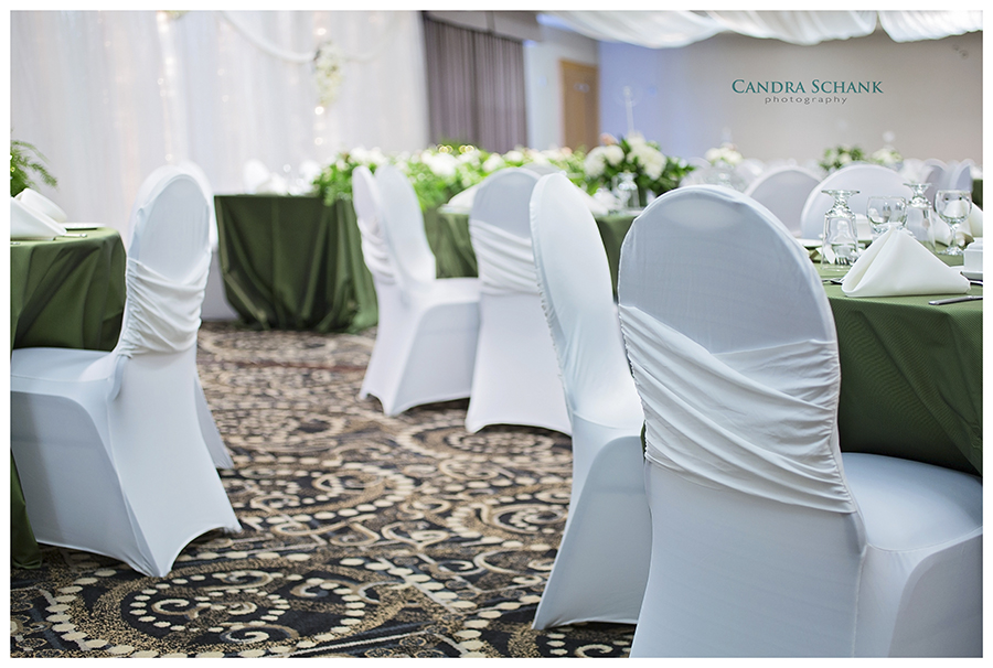 Wedding Venue Setup. Interior photography. Wedding Photography by Candra Schank Photography. Owen Sound Photographer.