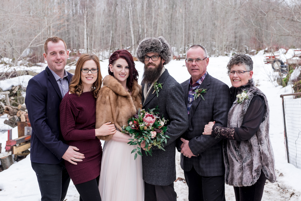 Winter Wedding by Candra Schank Photography. Grey Bruce Wedding Photographer.