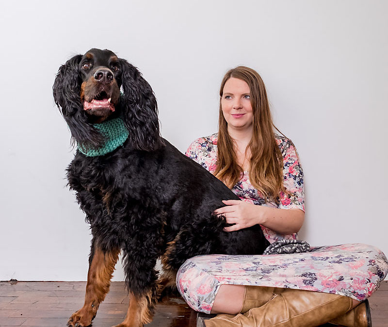 Chester's Studio Pet Photography Session / Didn't even know he was blind!